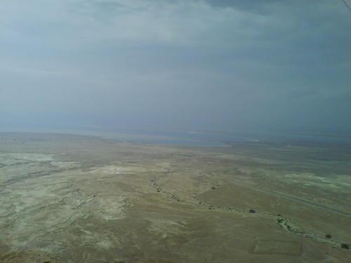 near the dead sea